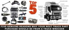 Truck Part Purchase Should Be From a Truck Wrecker
